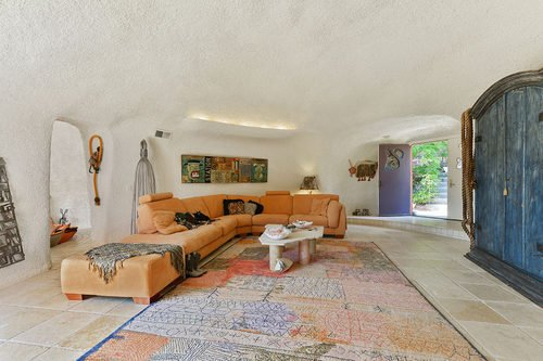 Iconic Flintstone House for sale is at 45 Berryessa Way Hillsborough CA via curbed sf