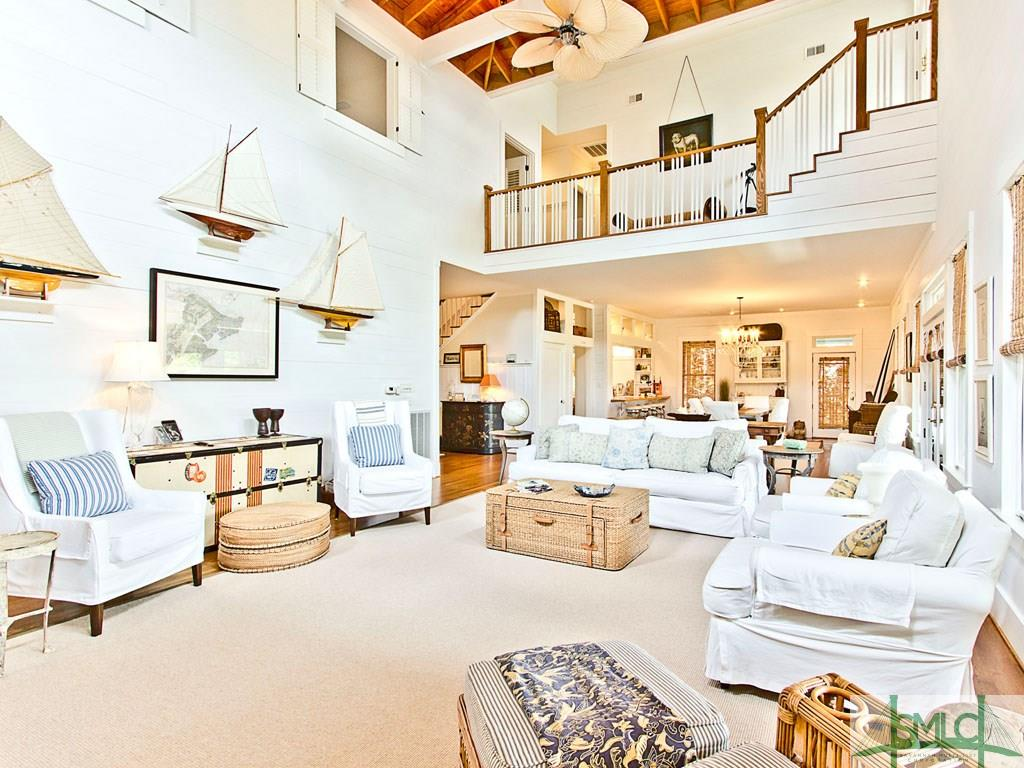 Inside Sandra Bullock Tybee Island Beach House