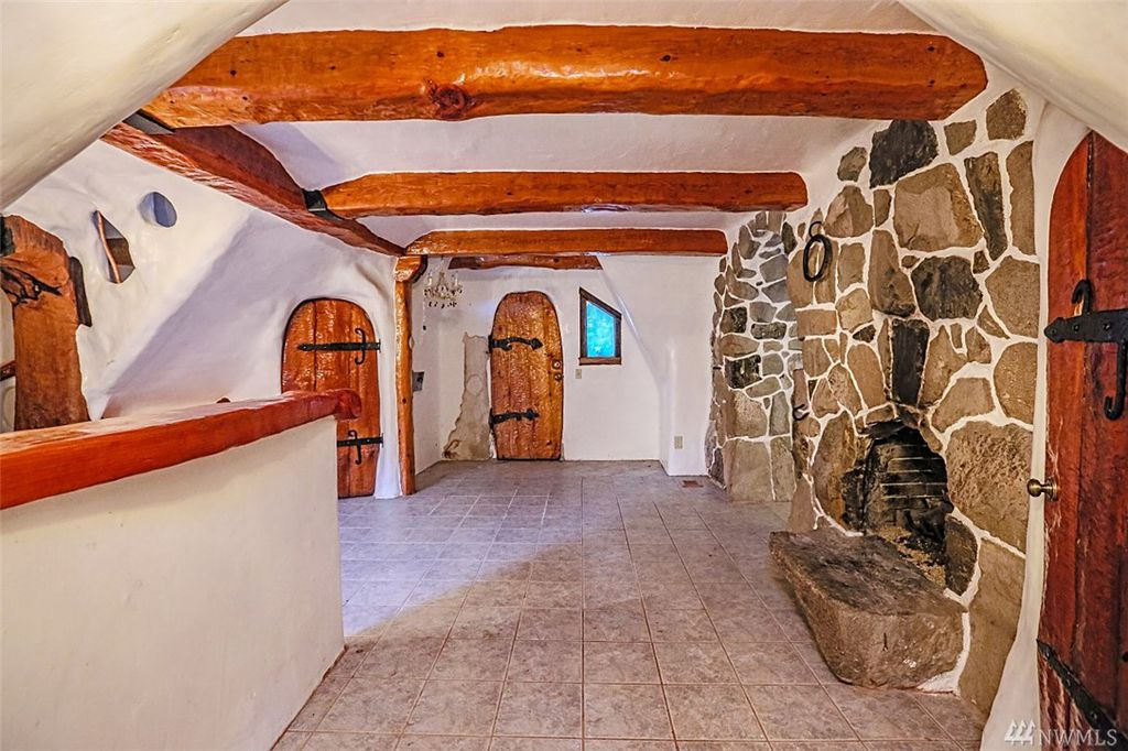 Inside Snow White Cottage for sale in Olalla WA