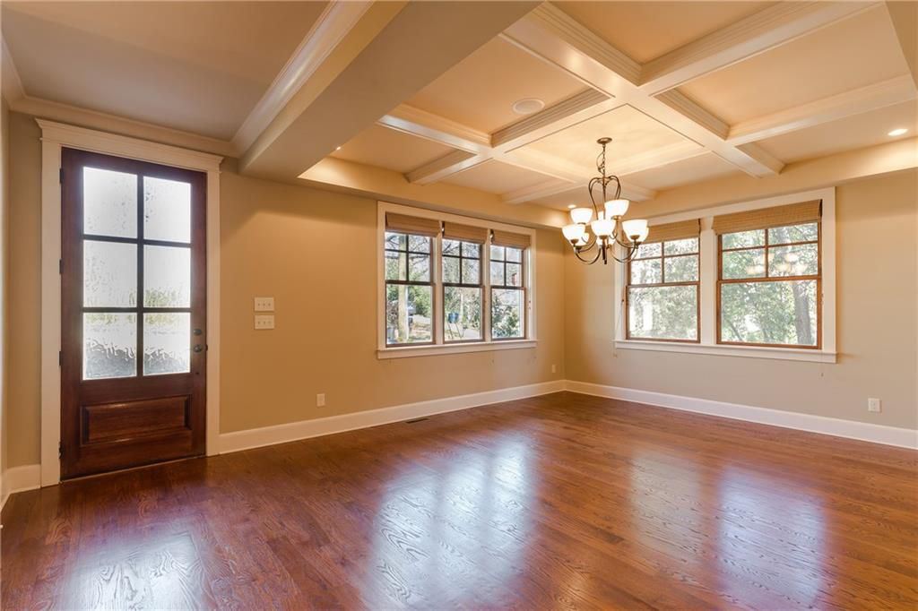 Inside a nice Craftsman home for sale in Atlanta GA