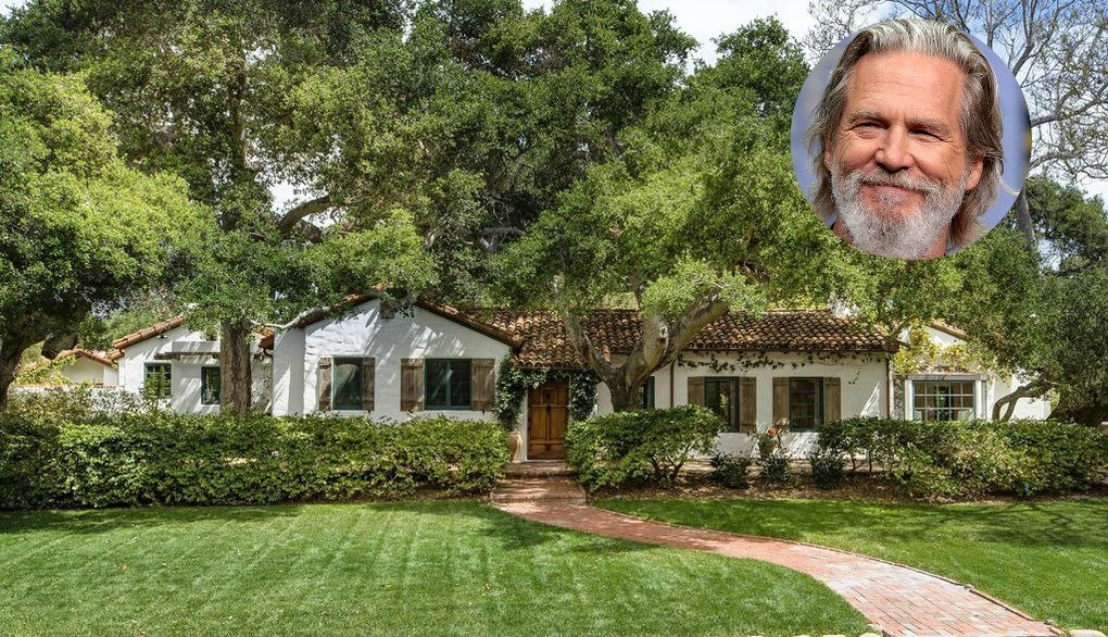 The Lovely Jeff Bridges House In Montecito Ca Is On The Market