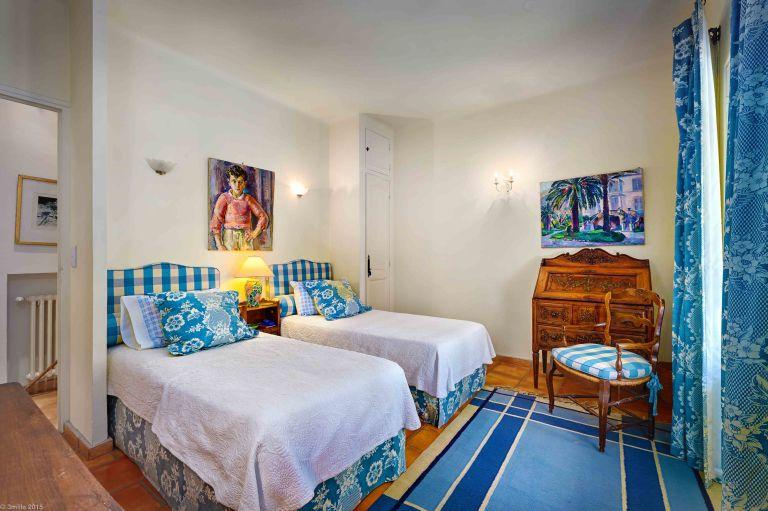 Julia Childs House in France for Rent- Bedroom