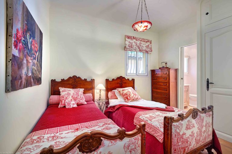 Julia Childs House in France for Rent- Bedroom two
