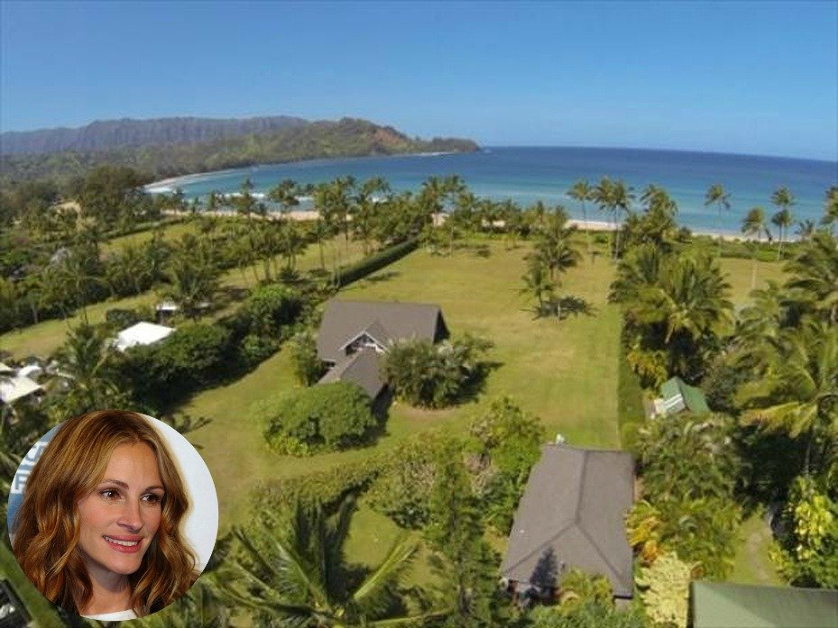 Julia Roberts house in Hawaii for sale, called The Faye Estate, - come see the property 2
