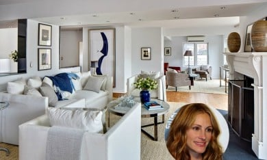 Julia Roberts Home in Greenwich Village