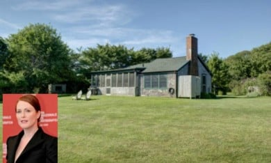 Julianne Moore is Selling Her Cute Montauk Cottage