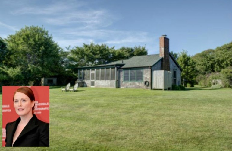 Julianne Moore is Selling Her Cute Montauk Cottage