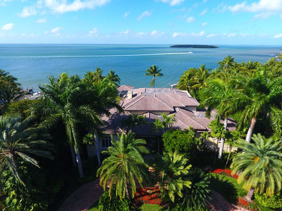 Kathy Lee Gifford estate in Key Largo FL for sale - Ariel View of the estate