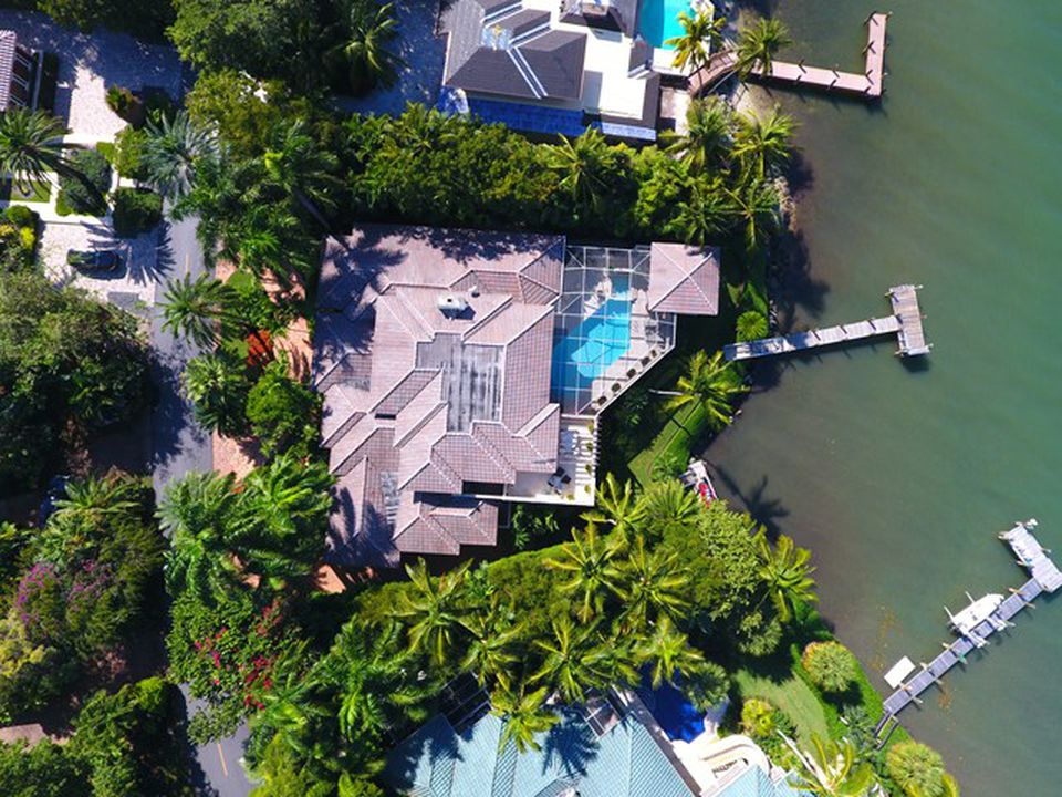 Kathy Lee Gifford home in Key Largo FL for sale - Ariel View of the estate