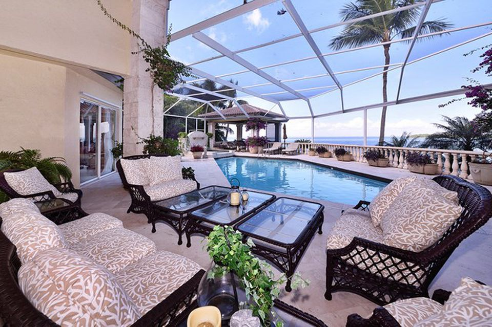 Kathy Lee Gifford home in Key Largo FL for sale is a masterpiece with panoramic views. Indoor Pool