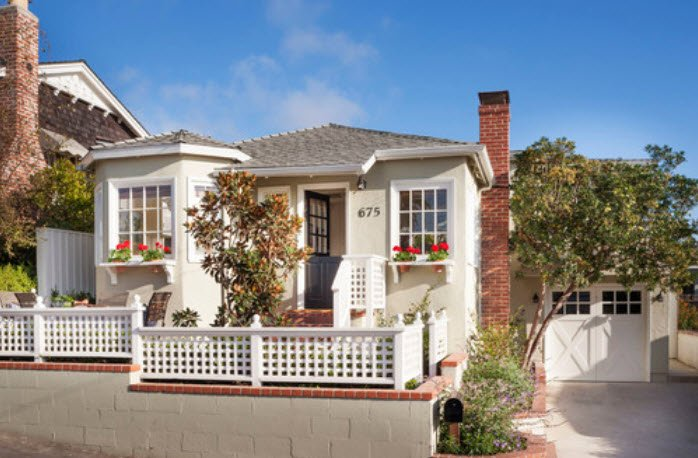 Laguna Beach Cottage Flawlessly Restored