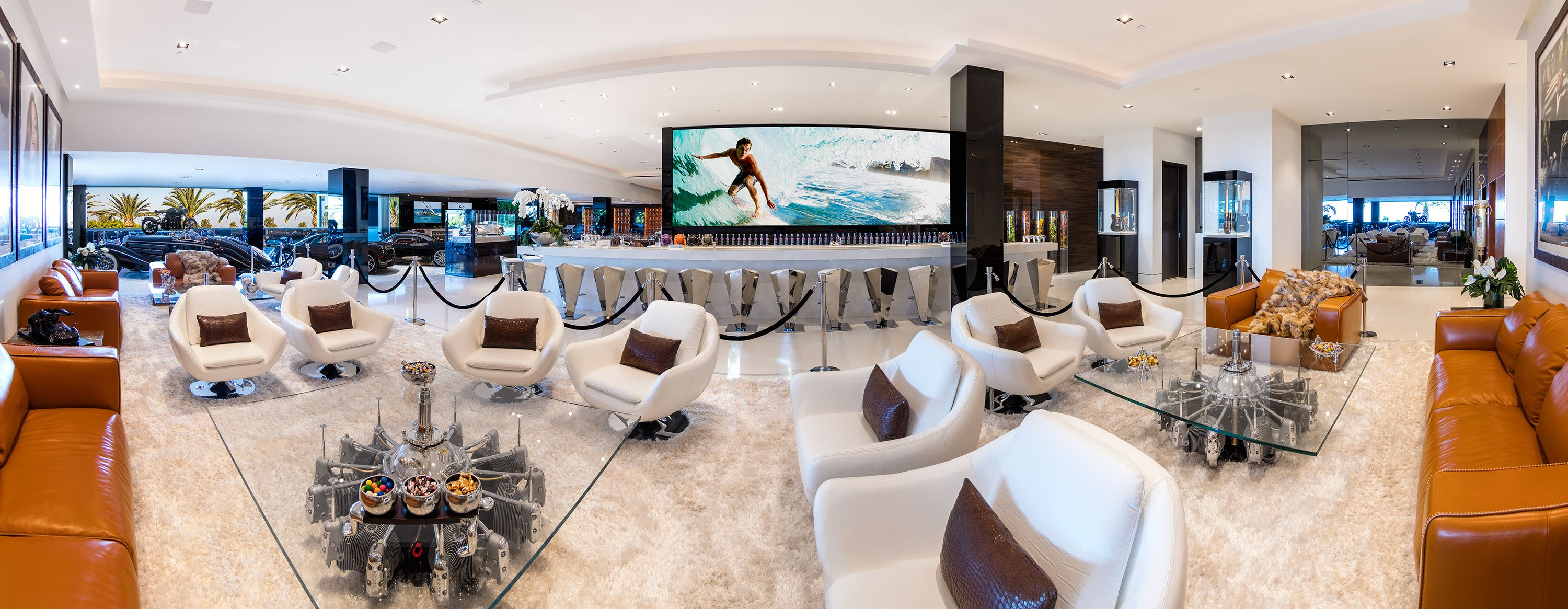 Lounge inside America's Most Expensive Home