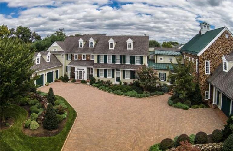 Historic Home Named Tabula Rasa in New Jersey
