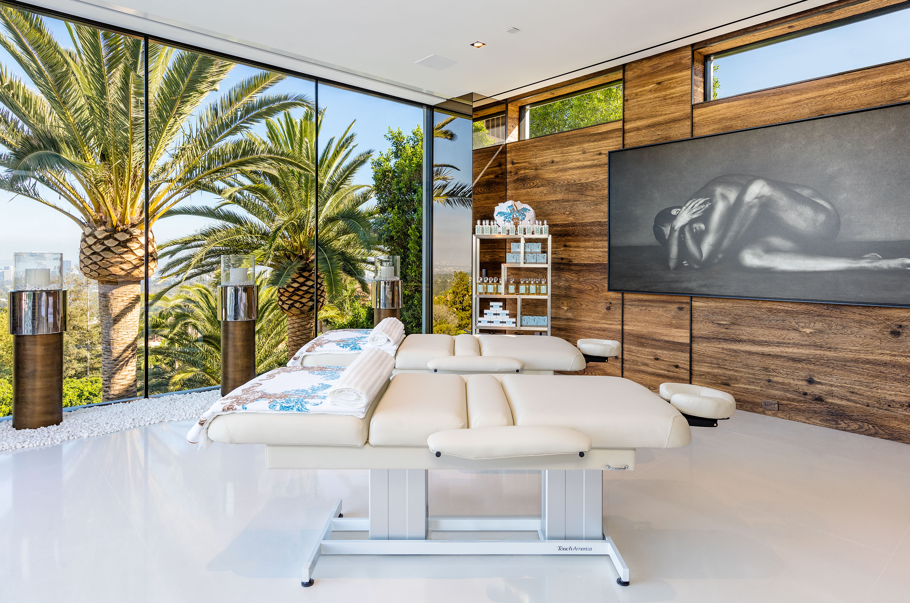 Luxury Spa- Wellness Center in America's Most Expensive Home