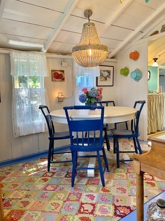 Martha Vineyard Cottage for sale. Dining Room 19 Butler Ave Oak Bluff, MA