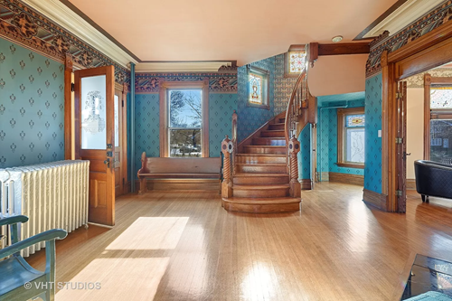 Circa 1890 Queen Anne home in Wheaton IL on the market