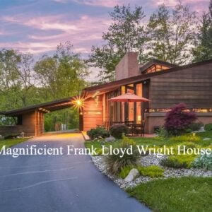 Magnifient Frank Lloyd Wright House For sale