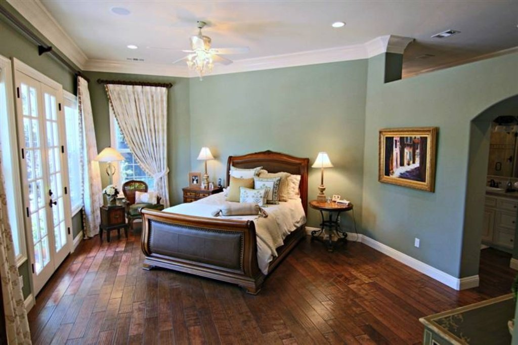 Master Bedroom - Sacramento, CA home recently sold. Beautiful grounds, patio, pool. Inside is stunning.