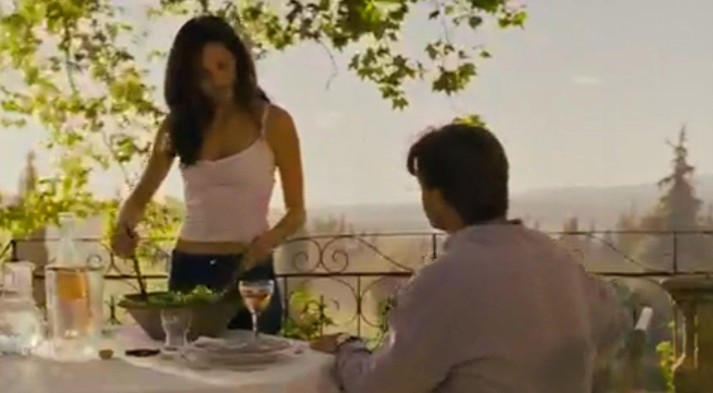 Max and Fanny in the movie A Good Year
