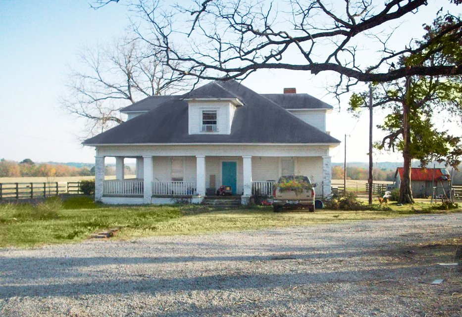 "Blake Shelton and Miranda Lambert Childhood Homes via Country Living Magazine - This is where Miranda Lambert grew up in Lindale, Texas. She said ""there was no central heat or air conditioning. They had a tire swing, chickens and pigs, and everyday after school her Mom put out Milk and cookies."""