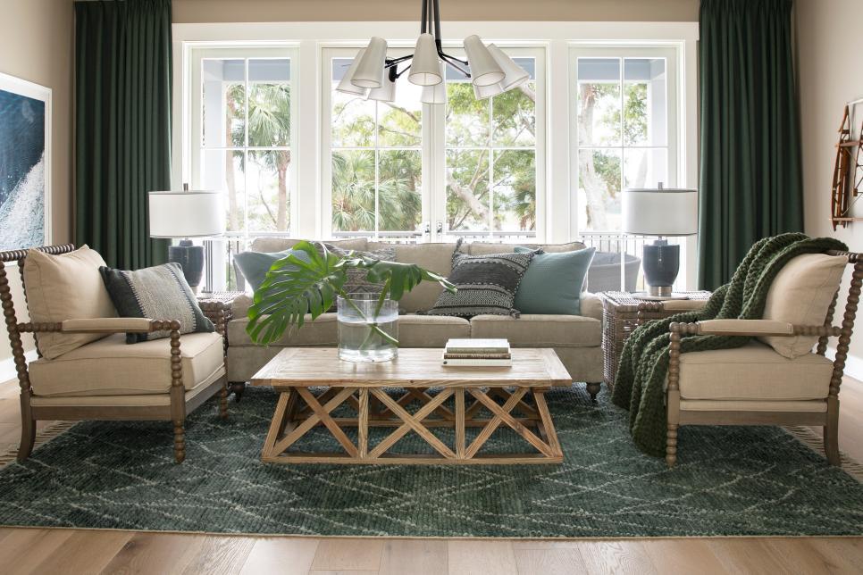 living area off the multipurpose room
