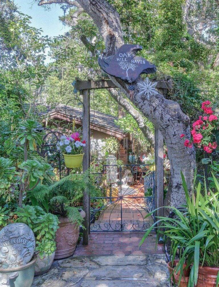 "Carmel Fairytale Cottage named ""Oak Hill Haven"""