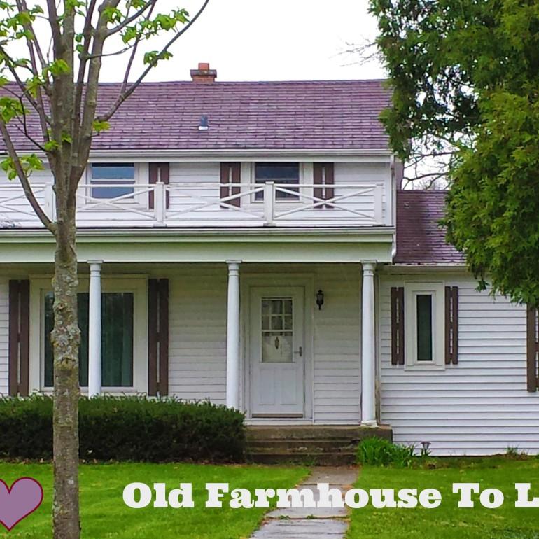 Old Farmhouse Fixer Upper To Love