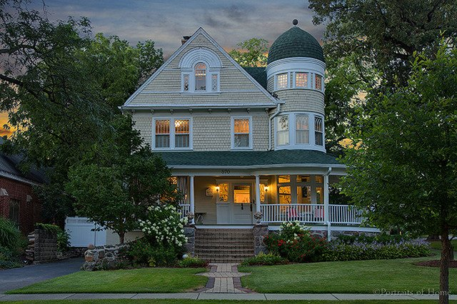One Of A Kind 1893 Queen Anne Home For Sale In Glen Ellyn IL Is Spectacular