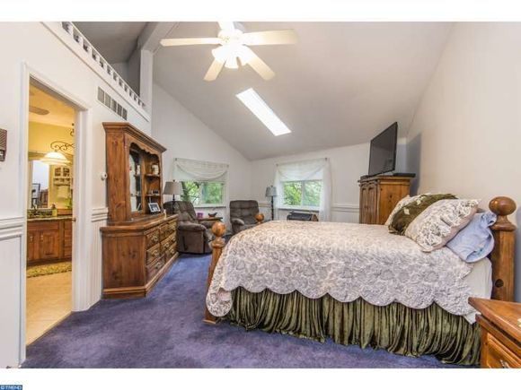 One of the five Bedrooms in this West Chester PA home on the market - estately