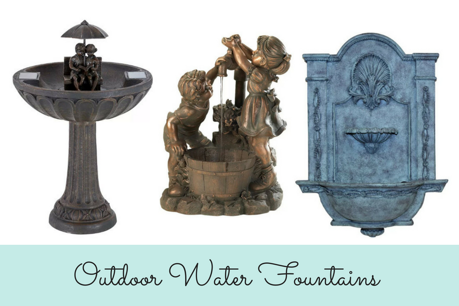 10 Of The Best Outdoor Fountains For Your Home