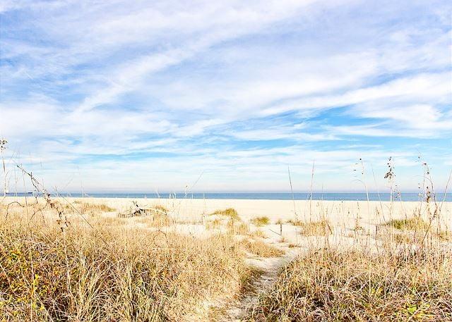 Path to beach.
