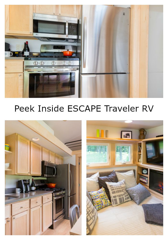 Peek Inside ESCAPE Traveler