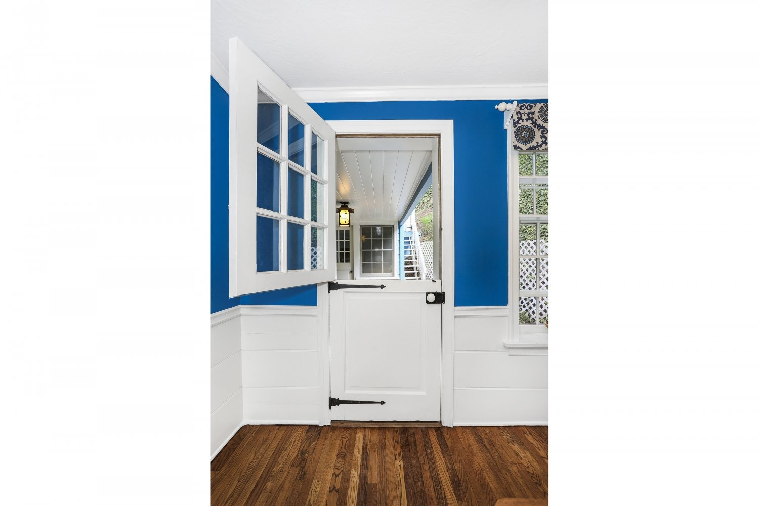 Pennsylvania Dutch Cottage Gerard Colford for sale in Glendale CA has charming Dutch Doors