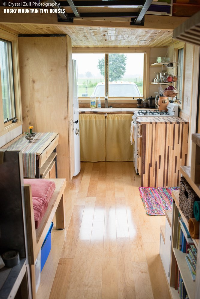 Pequod custom built tiny house by Rocky Mountain Tiny Houses