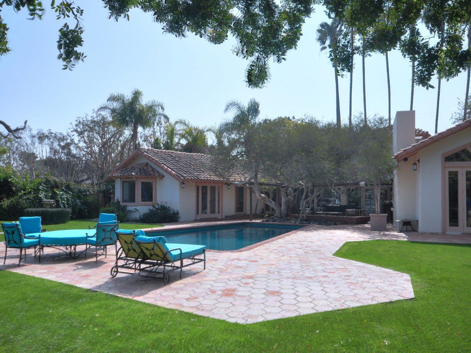 Pool - Sean Penn house for sale