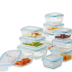 Pro Glass 24-Piece Food Storae Set at Bed Bath and Beyond