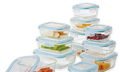 New Food Storage Containers for Organization