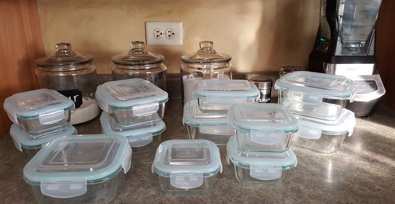 Pro Glass 24 piece set - Housekaboodle 2