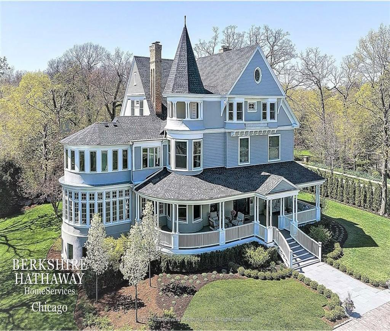 Amazing Queen Anne House in Highland Park IL For Sale