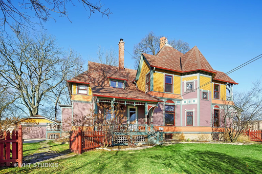 Queen Anne home in Wheaton IL on the market