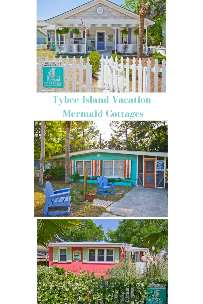 See the Tybee Island Mermaid Cottages