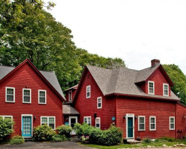 Red Cape Cod in Falmouth MA for sale