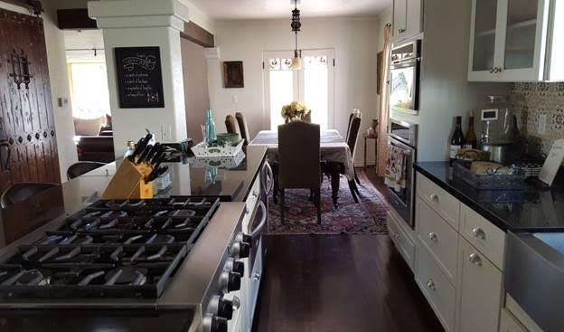 Remodeled kitchen after of this beautiful Spanish style home that took 27 years to remdel