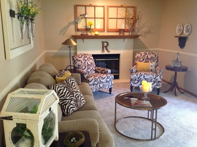 Renaissance Mermaid living room featured on Happy Home Tour