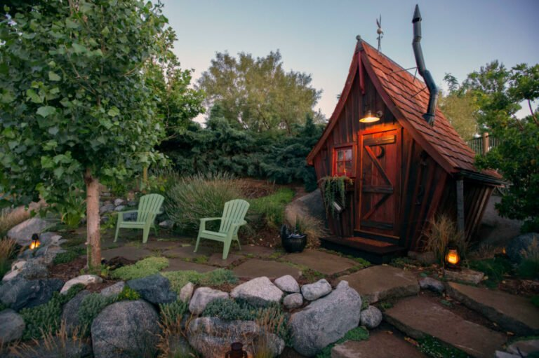 A Rickety Shack That is Straight Out of a Cartoon