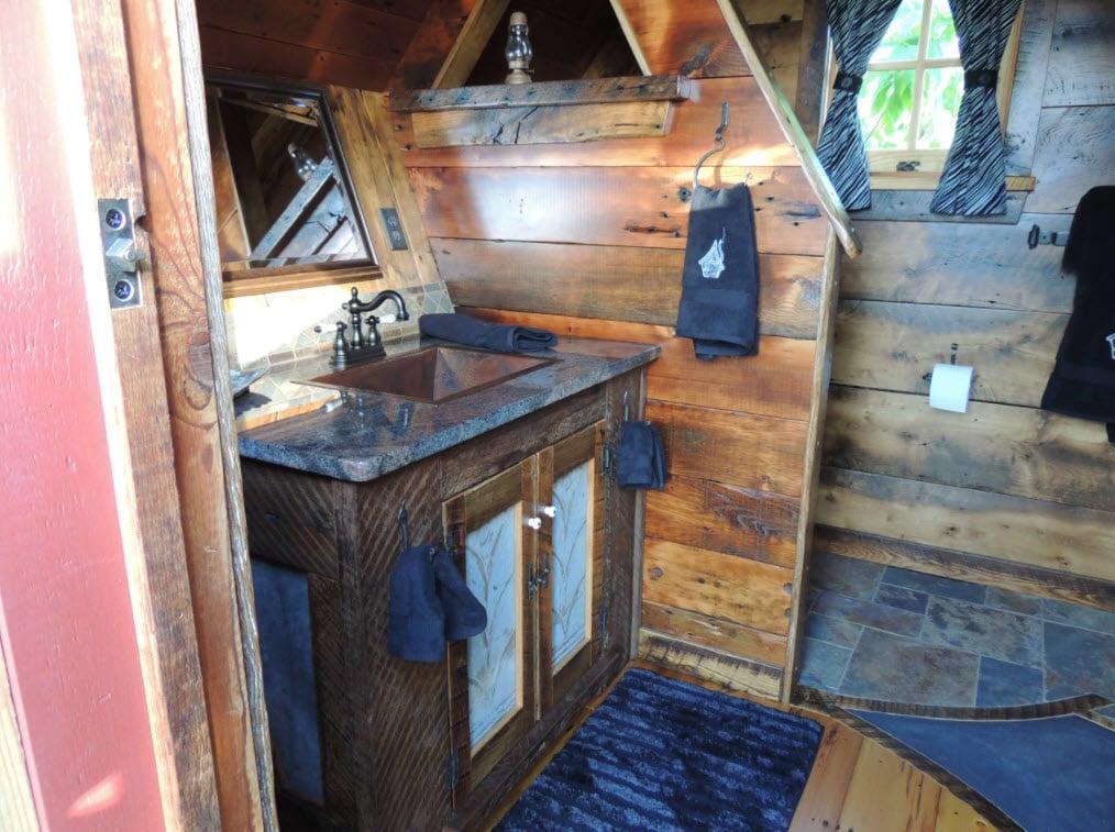 Bathroom by The Rustic Way via Houzz