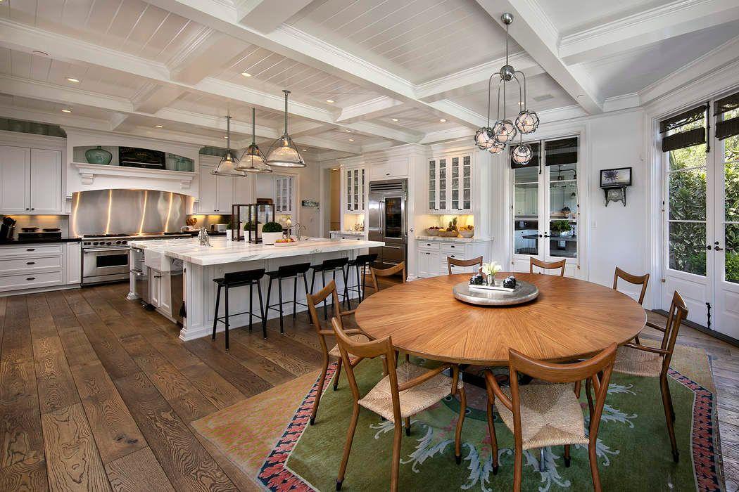 Rob Lowe Montecito House - Veranda