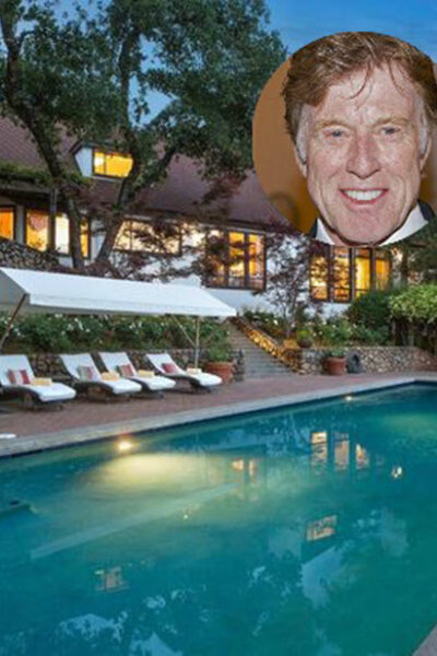 Robert Redford house in Napa Valley for sale.