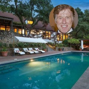 Robert Redford's house in Napa Valley for sale is full of serenity