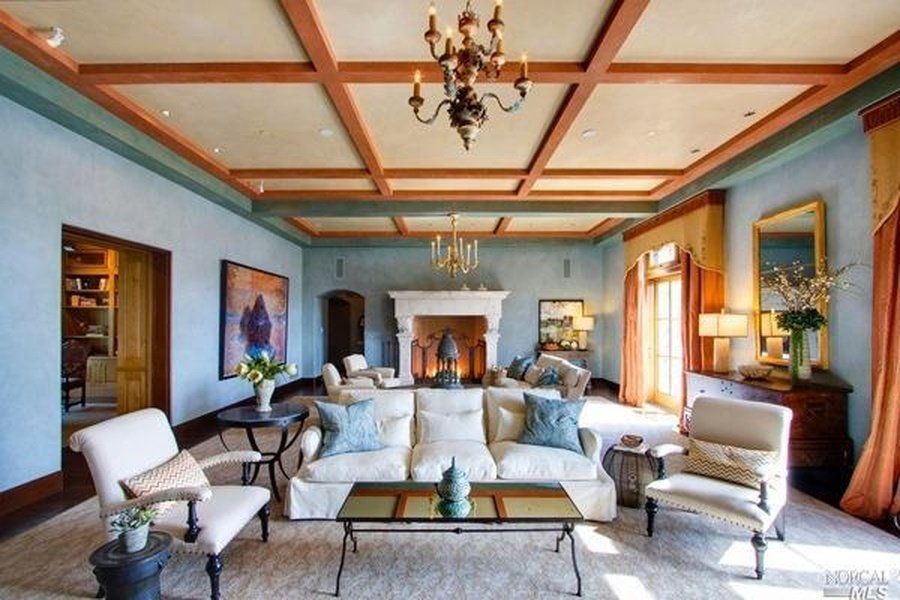 Inside Robin Williams Napa Valley Villa for sale is gorgeous